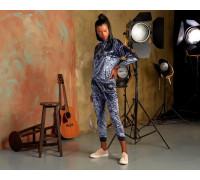 Комплект женский из штанов и футболки с длинным рукавом SEVIM Арт: 20415