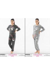 Детская пижама из штанов и футболки с длинным рукавом Vienetta Kids Арт.: 101190-1404