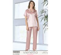 Комплект сатиновый из штанов и рубашки Vienetta Secret Арт: 160832-4973