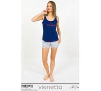 Комплект шорт и майки на тонких шлейках Vienetta Secret Арт: 009120-3733