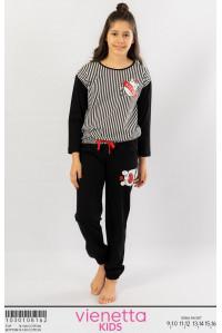 Детская пижама из штанов и футболки с длинным рукавом Vienetta Kids Арт.: 103010-8162