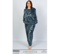 Комплект штанов и футболки с длинным рукавом Vienetta Secret Арт: 103094-0000