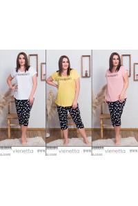 Комплект капри и футболки Vienetta Secret Арт: 008046-4123