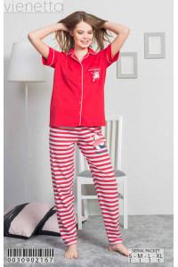 Комплект штанов и рубашки с коротким рукавом Vienetta Secret Арт: 003090-2167
