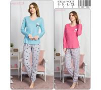 Комплект штанов и футболки с длинным рукавом Vienetta Secret Арт: 903297-0381